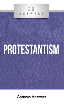 """Separated at Baptism  How did Protestant Christianity begin and spread?  What are the distinctive beliefs of Protestantism, and how do they differ from Catholic teaching?  How do """"non-denominational Bible churches"""" compare with the """"mainline"""" branches of Protestantism?  Why are some Protestant groups anti-Catholic, and what can I do to foster better relations with them and help them understand Catholicism?  Since the Reformation, Christianity has been split into many competing groups, each differing from the others but almost all claiming to represent the authentic gospel of Jesus Christ. How did that happen? And how can we better understand—and work to heal—those divisions? 20 Answers: Protestantism gives you a perfect beginner's guide to the historical roots of Protestantism, its liturgical and doctrinal flavors, and its impact on the evolution of global (and especially American) Christian culture. Most of all, it offers proven advice for finding common ground with Protestants while sharing your own Catholic faith.  The 20 Answers series from Catholic Answers offers hard facts, compelling arguments, and clear explanations of the most important topics facing the Church and the world—all in a compact, easy-to-read package."""