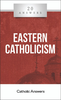 "The Church's Other Lung  Do Eastern Catholics follow the pope?  What is it like to visit and worship at an Eastern Catholic parish?  How can there be many different ""churches"" in the one Catholic Church?  What are some aspects of Eastern Catholic theology and practice that differ from the West?  The rich history and theological, liturgical, and artistic traditions of the twenty-three Eastern Catholic churches are such an indispensable part of the global Catholic communion that, along with the Latin West, these churches are said to form one of the two ""lungs"" by which the Church breathes and lives. Yet even though Pope St. John Paul II called on the faithful to appreciate the treasures of the Christian East, far too many Catholics remain ignorant of them. 20 Answers: Eastern Catholicism provides an invaluable primer, explaining the origins of the Eastern Catholic churches and how they fit into the one Church of Christ, their distinctive prayers and practices, and some of the common misunderstandings and controversies that even today can cause unnecessary division and confusion.  The 20 Answers series from Catholic Answers offers hard facts, compelling arguments, and clear explanations of the most important topics facing the Church and the world—all in a compact, easy-to-read package."