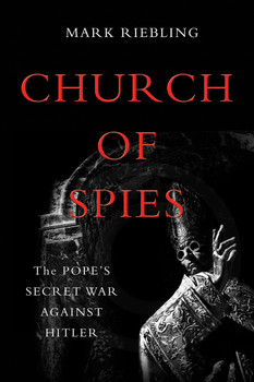 "Vatican silence on Nazi crimes is fiercely debated. History has accused wartime pontiff Pius the Twelfth of complicity in the Holocaust and dubbed him ""Hitler's Pope."" But a key part of the story has remained untold.  Pius ran the world's largest church, smallest state, and oldest spy service. Saintly but secretive, he skimmed from church charities to pay covert couriers, and surreptitiously tape-recorded his meetings with top Nazis. When he learned of the Holocaust, Pius played his cards close to his chest. He sent birthday cards to Hitler--while plotting to overthrow him.  Church of Spies documents this cross-and-dagger intrigue in shocking detail. Gun-toting Jesuits stole blueprints to Hitler's homes. A Catholic book publisher flew a sports plane over the Alps with secrets filched from the head of Hitler's bodyguard. The keeper of the Vatican crypt ran a spy ring that betrayed German war plans and wounded Hitler in a briefcase bombing.Told with heart-pounding suspense, based on secret transcripts and unsealed files, Church of Spies throws open the Vatican's doors to reveal some of the most astonishing events in the history of the papacy."
