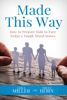In Made This Way: How to Prepare Kids to Face Today's Tough Moral Issues, Leila Miller and Trent Horn give parents (guardians and teachers, too!) crucial tools and techniques to form children with the understanding they need—appropriate to their age and maturity level—to meet the world's challenges.