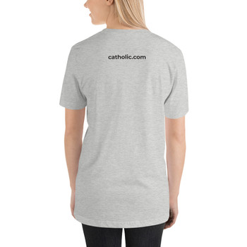 This t-shirt is everything you've dreamed of and more. It feels soft and lightweight, with the right amount of stretch. It's comfortable and flattering for both men and women.  • 100% combed and ring-spun cotton  • Fabric weight: 4.2 oz (142 g/m2)  • Pre-shrunk fabric  • Shoulder-to-shoulder taping  • Side-seamed