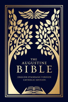 The Augustine Bible features a beautiful foil-stamped slipcase and a durable matte cover to ensure that you can use and treasure this Bible for years to come. Printed in Italy, The Augustine Bible features the English Standard Version® Catholic Edition translation, which some consider to be the best available English translation of the Bible.  Special Features:      Smyth sewn with foil stamping under anti-scuff matte lamination.     Encased in a rigid Wibalin® slipcase with foil stamping.     1,232 pages, plus 8 - page, full-color map