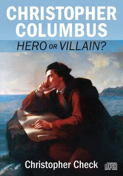 """For a long time, Christopher Columbus enjoyed a positive—if slightly simplistic—reputation in our national culture. Even if he didn't exactly """"discover America,"""" we still revered him as a key figure in a critical period of Western history.  Today, they're toppling his statues and cursing his name in town squares across the country. Even many Catholic institutions are quietly hiding their monuments to this former hero now branded an """"imperialist oppressor,"""" the arch-villain of woke revisionist history.  Can we save Columbus's memory before it's completely erased?  In the audio presentation Christopher Columbus: Hero or Villain, Catholic Answers president Christopher Check cuts through the calumnies and reveals the full (and laudable) facts about Columbus: his virtues and failings, his actions and aims, and the immense, almost incomparable significance of his efforts to bring Christian civilization to the New World."""