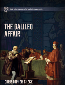 The Galileo Affair is the go-to event cited by enemies of the Catholic Church as hard evidence that she is opposed to scientific learning. The facts of the story do not support this narrative. Indeed, the Church throughout history has led the way in learning across all the academic disciplines including in the natural sciences.   Catholics who want to defend the Church face a particular challenge when confronted with the Galileo Affair, or, more correctly, the public perception of the Galileo Affair. The challenge is how to have a peaceful conversation with a hostile person about an involved tale that does not summarize easily and has come to mean something that it does not.    Christopher Check's latest course, The Galileo Affair, will give you the understanding of the Galileo Affair and the facts of the story you need to equip yourself for this conversation. Among many other things, the student will learn how to:  • Talk about the historical context in which the event took place and why this context is critical  • Explain the Church's actual teachings about the cosmos and about the interpretation of Scripture, as well as the Church's genuine pastoral concerns and desire to avoid scandal  • Identify Galileo's scientific contributions as well as the not-insignificant errors in his theories  • Answer with facts the abundant falsehoods that surround the Galileo Affair.  The student will also be able to talk about the personalities, temperaments, and motives, as well as the shortcomings and virtues, of Galileo and of the principal churchmen in the story. Apart from these, this story cannot be understood.  For too long, the alleged persecution of Galileo has been a stick used to beat the Church. Prepare yourself to defend the Church and talk with clarity and grace about what has become one of the most controversial events in Church history.  14 online lessons + PDF Study Guide