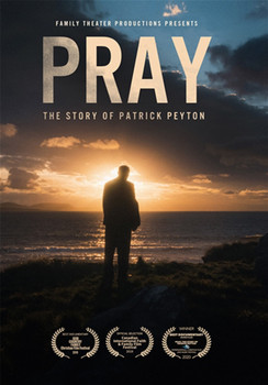 """This beautifully filmed, deeply inspiring documentary chronicles the life of a poor, uneducated Irish immigrant who journeys to America in 1928 hoping to become a millionaire. Instead, he is miraculously healed of tuberculosis through the intercession of Our Lady, becomes a Holy Cross priest and spends his life inspiring millions to experience the power of prayer, especially the family Rosary.  We see Father Peyton's amazing years in Hollywood, where he enlists numerous iconic stars of his day — Bing Crosby, Maureen O'Hara, Jimmy Stewart, Grace Kelly, and many more — to create radio dramas and TV specials that spread his famous message, """"The family that prays together stays together.""""  Then Father Peyton takes to the globe, gathering millions at massive Rosary rallies worldwide, to hear his moving message of family unity through prayer.  Filmed on location from Hollywood to Ireland, this is the incredible story of a tireless missionary and modern Marian apostle, an unlikely hero, and one of history's greatest advocates for family prayer and the power of the Rosary. Father Peyton died in 1992 and was declared """"Venerable"""" by the Church in 2017 as his cause for canonization continues in Rome."""