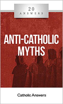 Catholic Answers Digital Booklet Anti-Catholic Myths in the 20 Answers Series: Did the pope support Hitler?  Aren't Christmas, Easter, and other holidays stolen from pagan feasts?  Doesn't the use of statues and idolatrous religious art prove that Catholics worship Mary and the saints?  Isn't Catholic history one long string of oppression, from native peoples subjected by missionaries to innocent women, scientists, and non-believers burned at the stake?  When you have been around for 2,000 years like the Catholic Church, there are bound to be some crazy rumors about you. Some are ancient, re-warmed from age to age by the Church's enemies; others are modern, kept afloat by the mounting ignorance of an increasingly secular society. 20 Answers: Anti-Catholic Myths looks at some of the most persistent of those myths, both historical and theological, serious and silly, that continue to be voiced to our day, and shows you how to defend the Church from the lies.  The 20 Answers series from Catholic Answers offers hard facts, compelling arguments, and clear explanations of the most important topics facing the Church and the world—all in a compact, easy-to-read package.