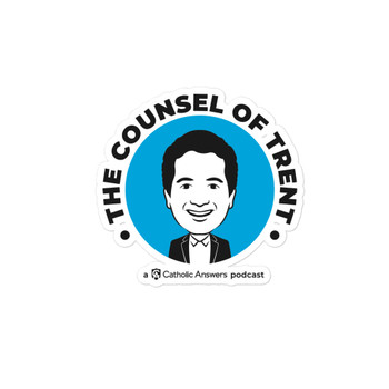 Counsel of Trent Bubble-Free Stickers
