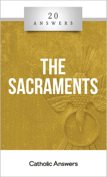 20 Answers: The Sacraments explains the mysteries of these powerful gifts from God, defends the Catholic understanding and administration of them, and shows you how to receive them with the disposition needed to make the most of their effects.