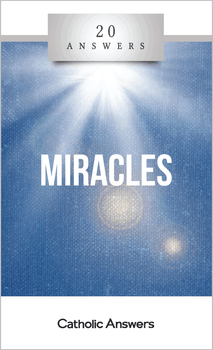 20 Answers: Miracles unpacks the nature of miracles, their appearances in Scripture and history, how the Church evaluates them, and ways to answer doubters who say they're mere superstition. Most of all, it shows that miracles are never an end in themselves, but instead are meant to lead us to greater faith in, and gratitude for, God's providence.