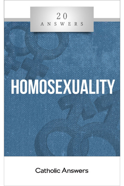 20 Answers: Homosexuality provides a faithful look at what the Bible, the Church, the natural law, and science have to say about same-sex attraction, and how we as Catholics and as a culture can respond with undiluted truth and compassionate love.