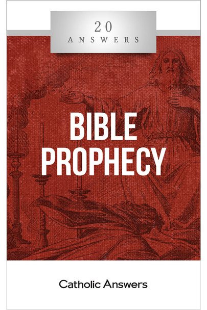 20 Answers: Bible Prophecy cuts through the confusion and presents the basic scope of scriptural prophecy in a way anyone can understand—a truly Catholic way that avoids modern sensationalism in favor of the sober and ancient wisdom of the Church.