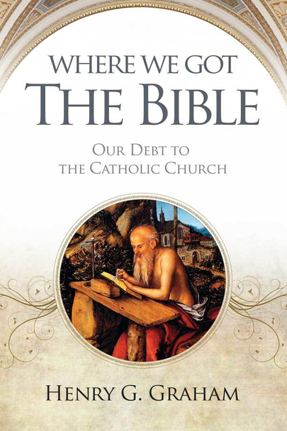 Learn about the history of the Bible and the Church's important role in preserving it.  Are Catholics anti-Bible?  Who compiled the biblical text?  Who organized the text?  How was the Bible preserved?  What role does the Bible play in the Catholic Faith?  In Where We Got the Bible, Bishop Henry G. Graham explains how the Catholic Church compiled the sacred text, how medieval monks preserved it, and how Catholic scholars first gave Christians the Bible in their own languages. Along the way, Graham refutes myths about Catholic opposition to Scripture.  To his lively history of the Bible is added his conversion story, From the Kirk to the Catholic Church. Brought up a Calvinist in Scotland, Graham became a minister but found himself irresistibly drawn to the Catholic Faith, eventually becoming a bishop.