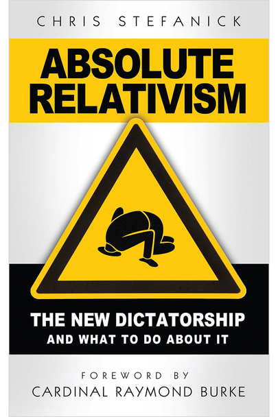 """In his best-selling booklet Absolute Relativism: The New Dictatorship and What to Do About It, Chris Stefanick tackles all the tough questions about Relativism by showing how bankrupt and impractical it is.  Through his down-to-earth, easily accessible Question-and-Answer format, Chris Stefanick shows that far from being the answer to """"World Peace"""" – or even personal peace of mind – Relativism suffers from a self-destructive rot.  Indeed, this pernicious philosophy's glittering façade may be updated with each generation's quest for meaning, but as Stefanick shows, this dead-end error remains the same cop-out it was the day the Truth Himself took up his cross to defeat it.  In Absolute Relativism you'll learn:      Why relativism inherently contradicts its own claims.     What makes it one of the worst ideas in the history of ideas. How relativism has a direct influence on the morals and virtues of a nation.     Why relativism doesn't even work """"on the ground"""" in """"real life.""""     Who relativism has hurt in history – and who it continues to hurt today.     How relativism is counterproductive to the true practice of tolerance in society.     Why religion – which makes claims to absolute truth – is finally more tolerant than relativism.     What Christianity has almost single handedly done to foster true tolerance in the world.     How all laws legislate morality and all relativists are lying when they say otherwise!     Why Jesus was anything but a relativist in his approach to sinners.     How the so-called impasse between religion and science is for the most part a myth.     What the true meaning of """"open-minded"""" means – it's not what you think!     Why, ultimately, relativism is a step backwards in true human progress.   Find out why Archbishop Charles J. Chaput, OFM Cap., Archbishop of Philadelphia, calls Absolute Relativism """"an excellent resource for anyone seeking to understand the spirit of our times and the challenges we face in a world increasingly without mor"""