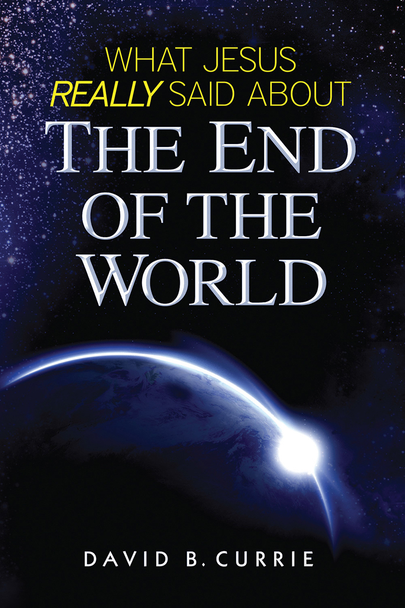 """From the Mayans to Martin Luther to modern doomsday preachers, there's a long list of people who predicted the end of the age—and got it wrong.  As a response to widespread concern about the Last Days, Catholic Answers released David Currie's book, What Jesus Really Said About the End of the World.  With global events sparking bold predictions by Christian preachers and New Age gurus alike about the imminent end times, popular author and speaker David B. Currie has conducted a thorough study of what Jesus actually tells us about the end of the age and his Second Coming. In so doing he quells the sensationalism of those who see an Antichrist or a """"Rapture"""" lurking behind every gloomy headline and dispels the misconception that Jesus predicted the end of the world within his own generation.  Using incisive scriptural scholarship and some long-neglected wisdom from Church Fathers, Currie explains the meaning of Christ's end-times prophecies as his first-century audience would have understood them. The result is a fascinating story of promise and fulfillment that reaffirms our faith in Christ's infallible wisdom. It also fills us with optimism for the future rather than a crippling fear of doomsday."""