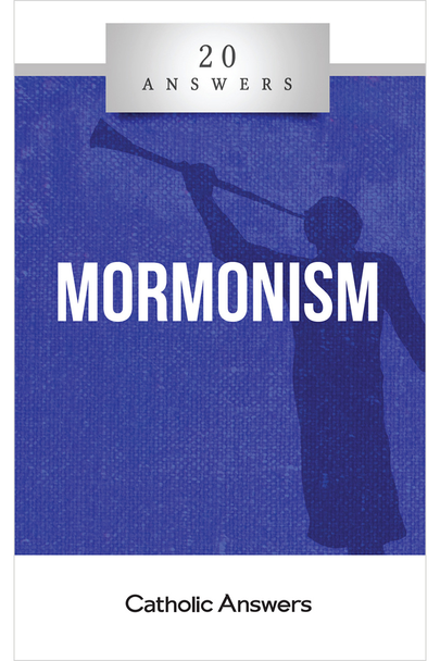 Another Testament of Jesus?  What are the origins and teachings of Mormonism?  What do Mormons believe about God, Jesus, and the afterlife?  What is the book of Mormon and how does it compare with the Bible?  How can I respond to Mormon missionaries when they show up at my door to convert me?  In 20 Answers: Mormonism you'll find smart, solid answers to these questions and many more. 20 Answers: Mormonism takes an inside look at the beliefs and practices of this fast-growing religion.  Everyone has been visited by Mormons, but most of us don't fully understand their sometimes-mysterious doctrines and traditions. Look here for the answers you'll need the next time they ring your doorbell.  The 20 Answers series from Catholic Answers offers hard facts, compelling arguments, and clear explanations of the most important topics facing the Church and the world—all in a compact, easy-to-read package.