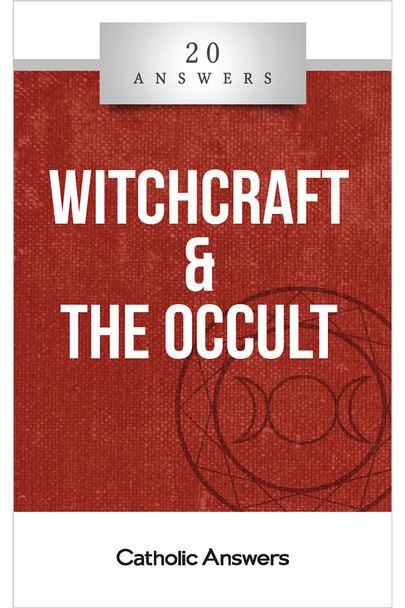 An Inversion of the Spiritual Order  What is witchcraft? Is it dangerous?  Is it okay for Christians to use things like Ouija boards, tarot cards, and mediums for fun?  What should I do if my child or loved one has become involved in witchcraft or other occult activity?  How can I tell the difference between authentic Christian spirituality and New Age or occult practices that promise spiritual enlightenment?  In 20 Answers: Witchcraft & The Occult you'll find smart, solid answers to these questions and many more.  Witchcraft, neo-paganism, Wicca—by any name it's on the rise in our culture. People are hungry for hidden knowledge and spiritual power that will bring them closer to the divine. But only in Christ is the soul transformed and raised to God.  It's important to understand the truth about witchcraft and occult practices, so that we can protect ourselves and our families from the lies they promote, and also in order to lead people out of these practices and into the truth.  The 20 Answers series from Catholic Answers offers hard facts, compelling arguments, and clear explanations of the most important topics facing the Church and the world—all in a compact, easy-to-read package.