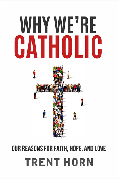 Wouldn't it be great to have a book to give non-Catholic or ex-Catholic friends and family to explain exactly why we believe what we believe?  The good news is that now there is!  Why We're Catholic is the groundbreaking new resource by apologist Trent Horn – that one, general book you can hand to anyone as a starting point for helping them find their way into, or back to, the practice of the Catholic Faith.  In a series of short, easy to read chapters, Trent covers the whole range of common topics, starting with why we believe in anything at all and answering all the common objections to the Catholic Faith—both doctrinal and moral.  Don't miss out on the most important, life-changing book to come along in years!