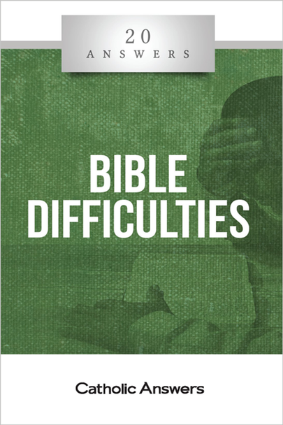 20 Answers: Bible Difficulties helps clear up the confusion by giving you the tools to recognize—and reconcile—common kinds of Bible difficulties, and by addressing the specific ones that most often embolden skeptics and dismay believers.