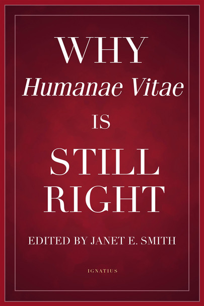 After half a century, how has the teaching of Pope Paul VI on marriage and birth control, presented in his encyclical Humanae vitae (On Human Life), held up? Very well, says philosopher Janet Smith and her colleagues in Why Humanae Vitae Is Still Right.  A sequel to Smith's classic Why Humanae Vitae Was Right, this new volume shows how the ethical, theological, spiritual, and sociological case for Paul VI's controversial document remains strong—indeed, how it's in some ways even stronger today, following Pope John Paul II's Theology of the Body and in light of the problems caused by the sexual revolution.  In addition to essays by Dr. Smith herself, the book features contributions by other renowned experts and scholars such as Mary Eberstadt (author of the best-selling Adam and Eve after the Pill), George Weigel, Therese Scarpelli Corey, Michael Waldstein, Christopher West, Obianuju Ekeocha (author of the best-selling Target Africa), Maria Fedoryka, Deborah Savage, Derek Doroski, Angela LaFranchi, William Newton, Joseph Atkinson, Michele M. Schumacher, and Peter Colosi.  Why Humanae Vitae Is Still Right includes the Krakow Document composed under the supervision of Cardinal Karol Wojtyla (later, Pope John Paul II), which provided research by moral theologians and other experts that helped to shape Humanae vitae to be a more personalistic document.