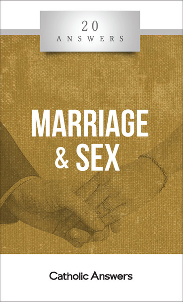 20 Answers: Marriage and Sex provides a solid introduction to what marriage is, why it's important, and how to make it work. It also gives sure guidance through today's minefield of sexual sin and confusion, showing God's way to marital happiness—and holiness.