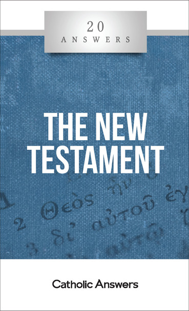 The Story of a New Covenant  How did the New Testament come to be?  Can we trust what the Gospels tell us about Jesus and his ministry?  Who wrote Acts, the epistles, and Revelation, and what are their major events and themes?  How can I learn to read and interpret the New Testament in way that's faithful and spiritually beneficial?  God's inspired word about the life, mission, and legacy of his Son is a repository of revealed Christian truth; a worthy object of lifelong reflection and prayerful reverence. Yet many Catholics, out of doubt or confusion about its contents, fail to profit from its rich wisdom. 20 Answers: The New Testament makes the Christian scriptures accessible and alive like never before, with easy-to-understand introductions to the New Testament's books, authors, teachings, and historical background. You'll come away with a fresh enthusiasm for reading the Bible—and a deeper love for Jesus.  The 20 Answers series from Catholic Answers offers hard facts, compelling arguments, and clear explanations of the most important topics facing the Church and the world—all in a compact, easy-to-read package.
