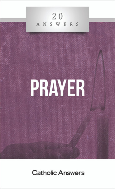 Prayer is the Christian's source of strength and peace, a channel of grace, a medium of joy and consolation. By it we open our minds to the One who made us and loves us, to give him praise and thanks and to tell him our needs. And we also open our hearts to him, asking him for wisdom and direction in our life. But prayer doesn't always come easily, especially when we have questions about how or why we should do it. 20 Answers: Prayer addresses some of the most common questions, giving you profitable understanding of what prayer is, strategies for praying more often in a busy day, and ways to advance in prayer toward its goal: deeper, more loving communion with God.