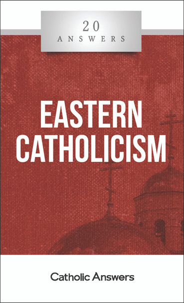 """The Church's Other Lung  Do Eastern Catholics follow the pope?  What is it like to visit and worship at an Eastern Catholic parish?  How can there be many different """"churches"""" in the one Catholic Church?  What are some aspects of Eastern Catholic theology and practice that differ from the West?  The rich history and theological, liturgical, and artistic traditions of the twenty-three Eastern Catholic churches are such an indispensable part of the global Catholic communion that, along with the Latin West, these churches are said to form one of the two """"lungs"""" by which the Church breathes and lives. Yet even though Pope St. John Paul II called on the faithful to appreciate the treasures of the Christian East, far too many Catholics remain ignorant of them. 20 Answers: Eastern Catholicism provides an invaluable primer, explaining the origins of the Eastern Catholic churches and how they fit into the one Church of Christ, their distinctive prayers and practices, and some of the common misunderstandings and controversies that even today can cause unnecessary division and confusion.  The 20 Answers series from Catholic Answers offers hard facts, compelling arguments, and clear explanations of the most important topics facing the Church and the world—all in a compact, easy-to-read package."""