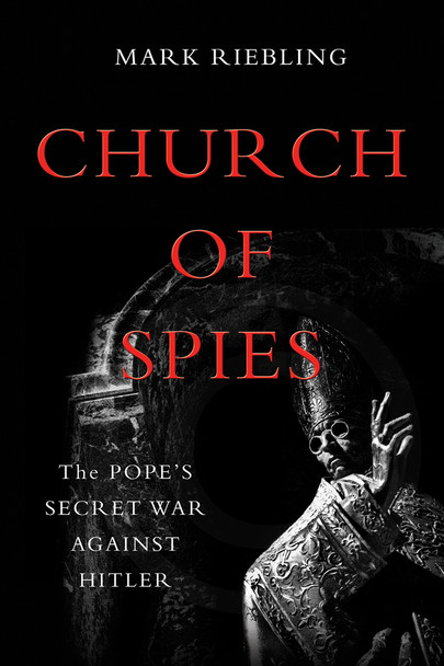 """Vatican silence on Nazi crimes is fiercely debated. History has accused wartime pontiff Pius the Twelfth of complicity in the Holocaust and dubbed him """"Hitler's Pope."""" But a key part of the story has remained untold.  Pius ran the world's largest church, smallest state, and oldest spy service. Saintly but secretive, he skimmed from church charities to pay covert couriers, and surreptitiously tape-recorded his meetings with top Nazis. When he learned of the Holocaust, Pius played his cards close to his chest. He sent birthday cards to Hitler--while plotting to overthrow him.  Church of Spies documents this cross-and-dagger intrigue in shocking detail. Gun-toting Jesuits stole blueprints to Hitler's homes. A Catholic book publisher flew a sports plane over the Alps with secrets filched from the head of Hitler's bodyguard. The keeper of the Vatican crypt ran a spy ring that betrayed German war plans and wounded Hitler in a briefcase bombing.Told with heart-pounding suspense, based on secret transcripts and unsealed files, Church of Spies throws open the Vatican's doors to reveal some of the most astonishing events in the history of the papacy."""