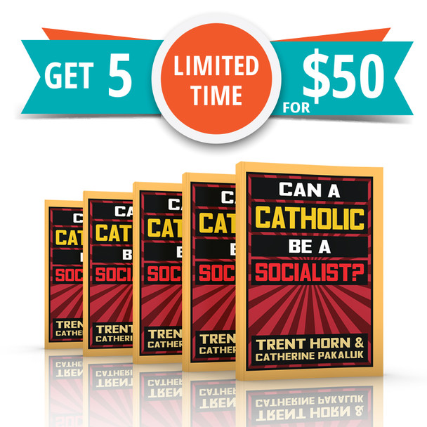 """Pope Leo XIII wrote of the """"harvest of misery"""" that socialism brings. Pius XI said that it's impossible to be a good Catholic and a good socialist. John Paul II spent his papacy combating socialism's dehumanizing statism.  Yet somehow this long-discredited economic philosophy is making a comeback, not only on college campuses and political talk shows, but among sincere Catholics. Some think it could be the answer to greed and globalism. Others even argue that it's the best way to obey Christ's command to help the poor.  Let's give socialism a fresh chance, they say. A democratic socialism this time, friendly to religion and ordered to the common good like the Church says the economy should be.  In Can a Catholic Be a Socialist?, Trent Horn and Catherine R. Pakaluk refute this tempting but false notion. Drawing on Scripture, history, Catholic social teaching, and basic economic reality, they show beyond a doubt that Catholicism and socialism are utterly incompatible."""