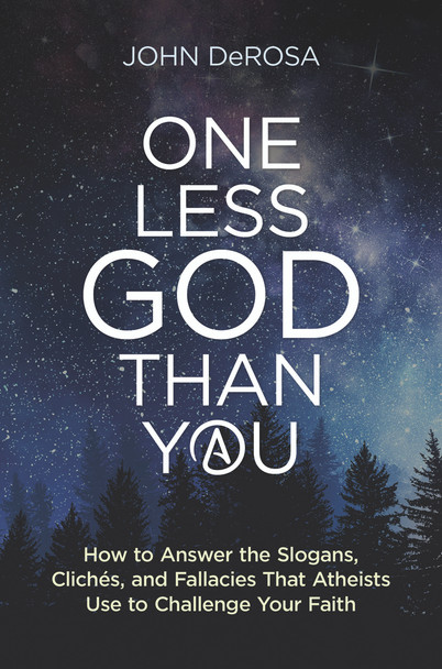 Atheism is more aggressive and widespread than ever before, so we believers have a crucial task before us. Let John DeRosa (Classical Theism) help. In One Less God Than You, he breaks down twenty of the most common atheist challenges, exposes their substantive and logical weaknesses, and shows you how to craft effective answers.