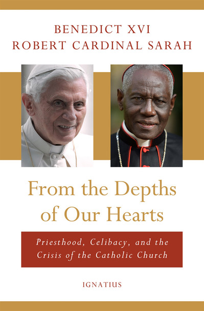 From the Depths of Our Hearts is an unprecedented work by the Pope Emeritus and a Cardinal serving in the Vatican. This is a book whose crucial message is for clergy and laity alike.