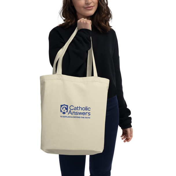 """Say goodbye to plastic, and bag your goodies in this organic cotton tote bag. There's more than enough room for groceries, books, and anything in between. • 100% certified organic cotton 3/1 twill • Fabric weight: 8 oz/yd² (272 g/m²) • Dimensions: 16"""" x 14 ½"""" x 5"""" • Weight limit: 30lbs (13.6 kg) • 1"""" wide dual straps, 24 1/2"""" length • Open main compartment  Size guide   ONE SIZE"""