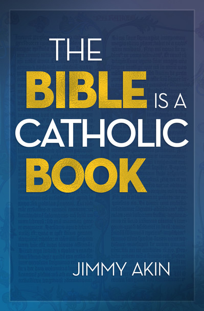 """Many Protestants call themselves """"Bible Christians""""—in contrast with Catholics, who ignore the Bible because they have the Church instead.  Too many Catholics have taken this mistaken assumption for granted.  We don't have to anymore, says Jimmy Akin.  Instead, we should embrace Sacred Scripture—not just as the revealed written word of God but as a thoroughly Catholic work, intimately connected with the Church from the earliest centuries.  In The Bible Is a Catholic Book, Jimmy shows how the Bible cannot exist apart from the Church. In its origins and its formulation, in the truths it contains, in its careful preservation over the centuries and in the prayerful study and elucidation of its mysteries, Scripture is inseparable from Catholicism. This is fitting, since both come from God for our salvation."""