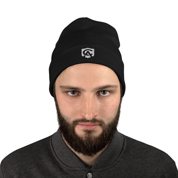 Beauticul embroidered beanie to keep you warm and show your support for the Apostalate! Beautiful item to add to your Catholic Answers collection!