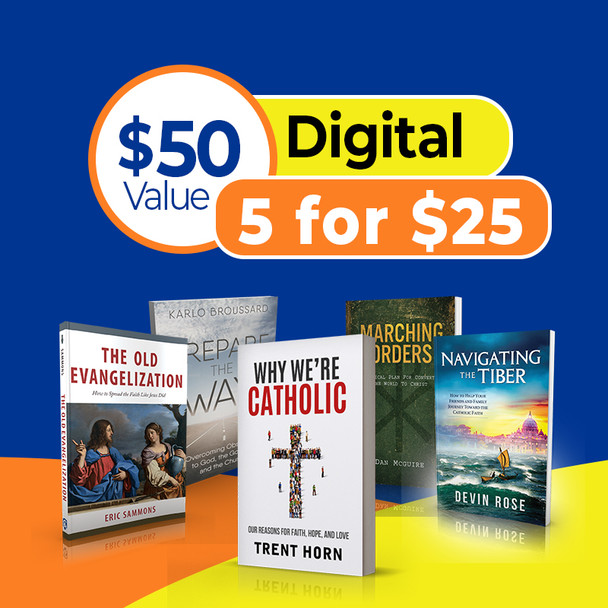 Learn How To Evangelize! - 5 Great Titles For Just $25 (Digital)