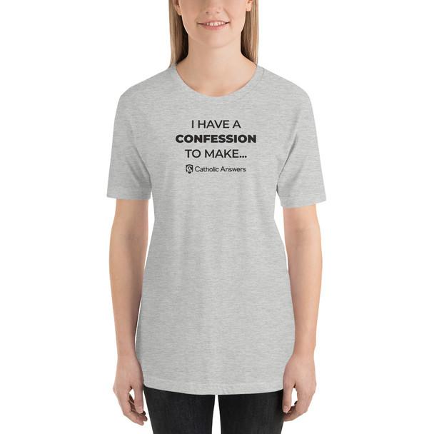 Short-Sleeve Unisex T-Shirt Confession