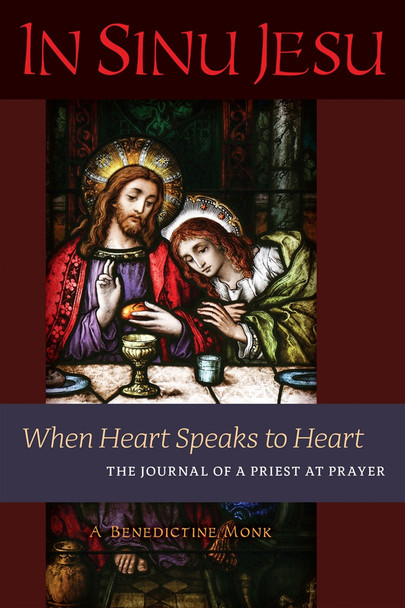 "In 2007, Our Lord and Our Lady began to speak to the heart of a monk in the silence of adoration. He was prompted to write down what he received, and thus was born In Sinu Jesu, whose pages shine with an intense luminosity and heart-warming fervor that speak directly to the inner and outer needs of our time with a unique power to console and challenge.  The pages of this remarkable record of spiritual communication range across, and plunge into, many fundamental aspects of the spiritual life: loving and being loved by God; the practice of prayer in all its dimensions; the unique power of Eucharistic adoration; trustful surrender to divine providence; the homage of silence; the dignity of liturgical prayer and the sacraments; the mystery of the Holy Sacrifice of the Mass; priestly identity and apostolic fruitfulness; the role of the Blessed Virgin Mary and the saints in our lives; sin, woundedness, mercy, healing, and purification; the longing for heaven and the longed-for renewal of the Catholic Church on earth.  Given the harmony of its content with the teaching of Sacred Scripture, Catholic Tradition, and well-known works of the mystics, it is eminently fitting that In Sinu Jesu be published in full at this time (it has been granted the imprimatur). Passages from this journal have already influenced the spiritual lives of priests, religious, and laymen—may it now give light and warmth, consolation and renewed conviction, to readers throughout the world.  ""It is my fervent hope that In Sinu Jesu will inspire many to be ever more ardent adorers of the Eucharistic Face of Jesus."" — Cardinal Raymond Burke"