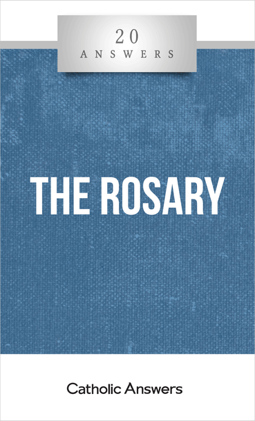 """Everyone recognizes the string of beads with a crucifix on the end as a symbol of Catholicism. But the rosary is not for piety-signaling or hanging on your rear view mirror—it's a powerful tool for prayer and meditation. 20 Answers: The Rosary reveals the history of this venerable devotion (and how it's not an act of idolatrous """"Mary-worship""""), explains the gospel mysteries that it dwells on, and shows you how to pray it more fervently to unlock the graces that God wants to deliver through it."""