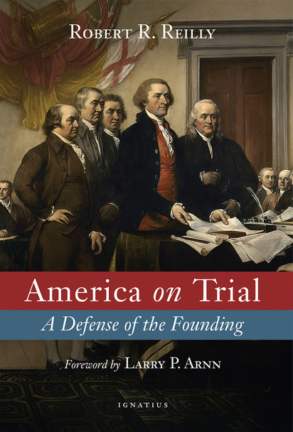 The Founding of the American Republic is on trial. Critics say it was a poison pill with a time-release formula; we are its victims. Its principles are responsible for the country's moral and social disintegration because they were based on the Enlightenment falsehood of radical individual autonomy.  In America on Trial, Robert Reilly declares: not guilty.  To prove his case, he traces the lineage of the ideas that made the United States, and its ordered liberty, possible. These concepts were extraordinary when they first burst upon the ancient world: the Judaic oneness of God, who creates ex nihilo and imprints his image on man; the Greek rational order of the world based upon the Reason behind it; and the Christian arrival of that Reason (Logos) incarnate in Christ. These may seem a long way from the American Founding, but Reilly argues that they are, in fact, its bedrock. Combined, they mandated the exercise of both freedom and reason.  These concepts were further developed by thinkers in the Middle Ages, who formulated the basic principles of constitutional rule. Why were they later rejected by those claiming the right to absolute rule, then reclaimed by the American Founders, only to be rejected again today? Reilly reveals the underlying drama: the conflict of might makes right versus right makes might.  America's decline, he claims, is not to be discovered in the Founding principles, but in their disavowal.