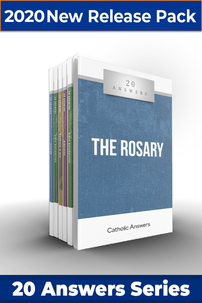 This Sampler includes 1 each of:      20 Answers: Catholic Social Teaching     20 Answers: Faith & Works     20 Answers: The New Age     20 Answers: The Rosary     20 Answers: The End Times     20 Answers: Seasons and Feasts  They can also all be ordered individually in bulk at great discounts