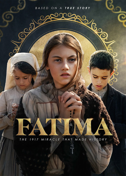 "Fatima is a powerful and uplifting feature film that tells the dramatic true story of the apparitions of the Mother of God in 1917 to three shepherd children in Fatima, Portugal. The revelations from their visions inspire believers but anger officials of both the Church and the secular government, who try to force them to recant their story. The children must convince them of Our Lady's appearances, and her urgent message to the world for prayer, penance and conversion.  As word of their visions spreads, tens of thousands of pilgrims flock to Fatima in hopes of witnessing a miracle. Over 70,000 witnesses experience the spectacular Miracle of the Sun that will change their lives forever.  Stars Harvey Keitel, Gorin Visnjic, Joaquim de Almeida, Sonia Braga, Stephanie Gil, and Lucia Moniz.  Endorsed by the Vatican and Fatima Shrine, with original song by Andrea Bocelli.  Includes Bonus Features with 8 ""Behind the Scenes"" Featurettes, and a special piece highlighting Andrea Bocelli and his inspiring original movie song."