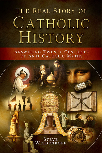 Professor Steve Weidenkopf collects over fifty of the most common and dangerous lies about Catholic history and, drawing on his experience as a historian and apologist, shows how to answer them simply and powerfully. Whether it's claims about Catholicism's supposedly pagan origins, old myths about Galileo or the Inquisition that never seem to go away, or more modern misconceptions that anti-Catholics cynically exploit, The Real Story of Catholic History provides the desperately needed corrective.