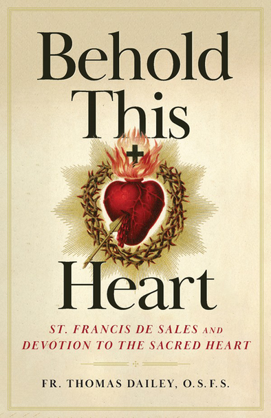 "True devotion to the Sacred Heart of Jesus moves us to ponder the unrelenting love of Jesus, fully human and fully divine, as He poured Himself out for the world.  In Behold This Heart, Fr. Thomas Dailey transports you beyond the prayers and liturgies and helps you to contemplate the Sacred Heart, which Pope Benedict XVI said ""has irreplaceable importance."" Fr. Dailey shows you how to experience the way of prayer that formed St. Margaret Mary — the visionary to whom the devotion was revealed — in the religious order founded by St. Francis de Sales and St. Jane de Chantal.  Fr. Dailey's brilliant combination of Salesian spirituality and meditative devotion will enable you to respond to Christ's ""divine affection"" and experience God's love as never before. Through a series of nine reflections on the Sacred Heart, Fr. Dailey will show you:       How you can live the devout life despite your many worldly responsibilities       Proven ways you can release supernatural confidence and overcome fear      The keys to developing the practice of mental prayer and entering contemplation      How to listen for and discern God's will for your life       Ways you can discover your personal spiritual vocation       Why Pope St. Paul VI called the Sacred Heart devotion ""the most effective means of promoting the reform of life and the defeat of atheism""  With Fr. Dailey as your guide, these engaging meditations will transform you as you step through the pages of the greatest love story ever told."