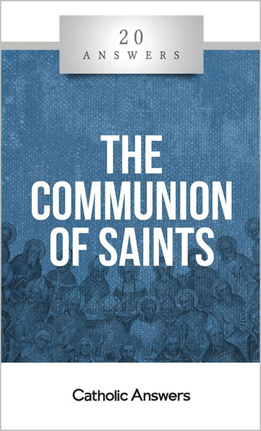 """Doesn't the Bible say we're all saints?  How can the saints possibly hear the prayers of everyone on earth?  Isn't praying to dead saints not only idolatrous but also the unbiblical practice of necromancy?  If Jesus is the """"one mediator between God and men"""" (1 Tim. 2:5), isn't it wrong to ask the saints to mediate for us with God?  Catholics believe that the souls of those who were saved by Jesus not only live forever in his presence, but that we who are still on earth have fellowship with them. This sense of solidarity with all those who live in Christ is ancient and unbroken—but it's also a source of confusion and sometimes even hostility for non-Catholic Christians. 20 Answers: The Communion of Saints explains this beautiful Catholic teaching in a way that's easy to understand and share, with solid biblical arguments dispelling many myths about our belief and practice regarding the saints.  The 20 Answers series from Catholic Answers offers hard facts, compelling arguments, and clear explanations of the most important topics facing the Church and the world—all in a compact, easy-to-read package."""