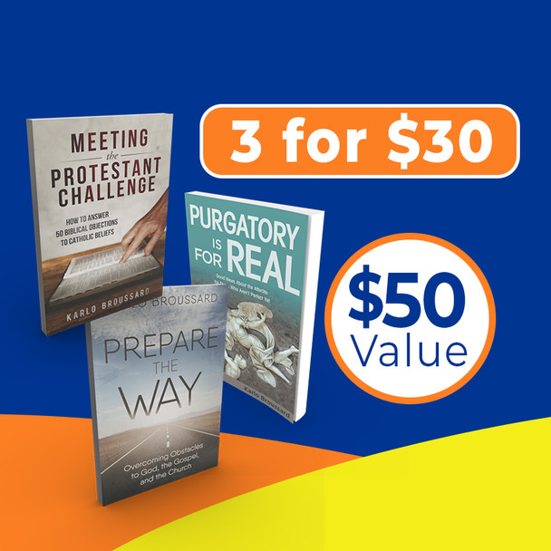 Karlo Broussard Special Offer: 3 Great Books For $30