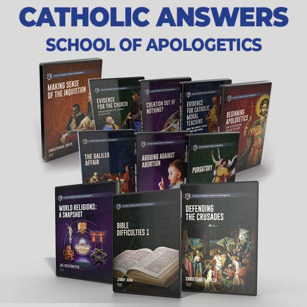 11 COURSE BUNDLE   CATHOLIC ANSWERS SCHOOL OF APOLOGETICS ONLINE COURSES