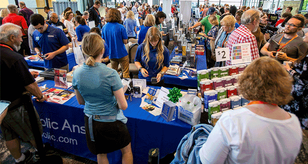 Catholic Answers Shop at our Annual Conference in La Jolla, California