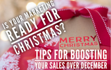 Boost your Christmas Sales and be busy in January!