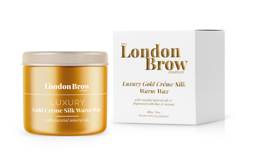 London Brow Luxury Silk Wax | Vegan & Hypoallergenic