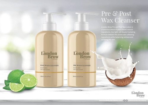 Pre Wax Cleanser and Post Wax Lotion - Set